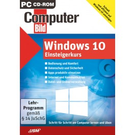 COMPUTER BILD: Windows 10 Einsteigerkurs