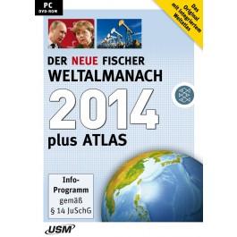 Der neue Fischer Weltalmanach 2014 plus Atlas