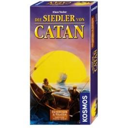 Die Siedler von Catan - Entdecker & Piraten Ergänzung für 5/6 Spieler