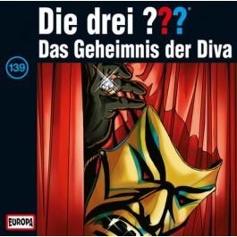 Die drei ??? Das Geheimnis der Diva, 139 - Audio-CD