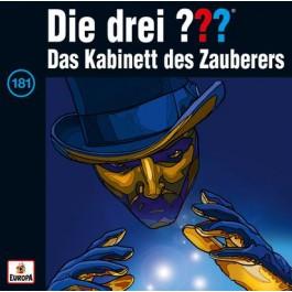 Die drei ??? Das Kabinett des Zauberers, 181 - Audio-CD