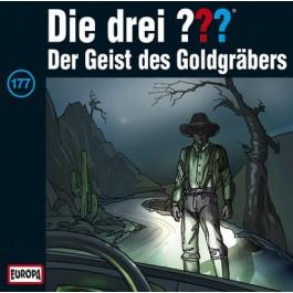 Die drei ??? Der Geist des Goldgräbers, 177 - Audio-CD