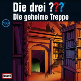 Die drei ??? Die geheime Treppe, 138 - Audio-CD
