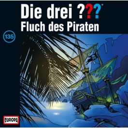 Die drei ??? Fluch des Piraten 135 - Audio-CD