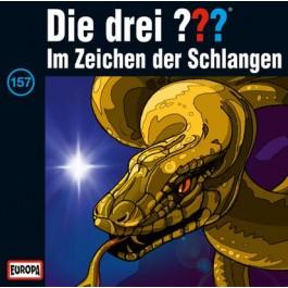 Die drei ??? Im Zeichen der Schlangen, 157 - Audio-CD