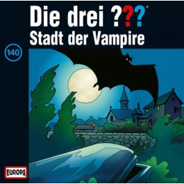 Die drei ??? Stadt der Vampire, 140 - Audio-CD