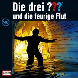 Die drei ??? und die feurige Flut, 148 - Audio-CD