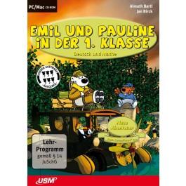 Emil und Pauline in der 1. Klasse