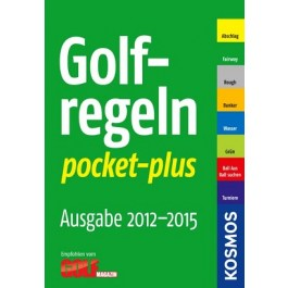 Golfregeln pocket-plus 2012-2015
