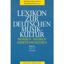 Lexikon zur Deutschen Musikkultur (2 Bände)