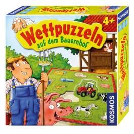 Wettpuzzeln auf dem Bauernhof