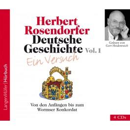 Deutsche Geschichte - Ein Versuch Vol. 1 (CD)