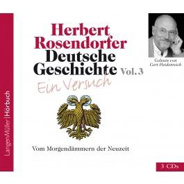 Deutsche Geschichte - Ein Versuch Vol. 3 (CD)