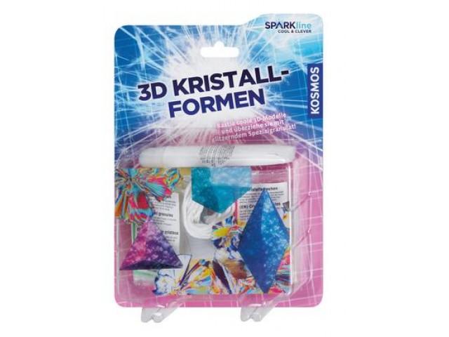 3D Kristallformen