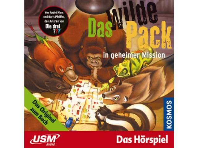 Das wilde Pack in geheimer Mission