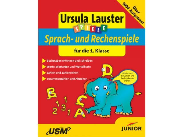 Sprach- und Rechenspiele für die 1. Klasse