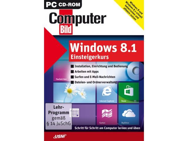 COMPUTER BILD: Windows 8.1 Einsteigerkurs