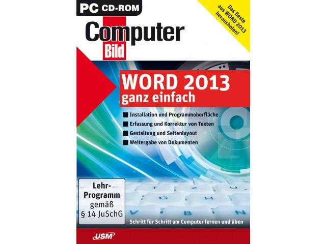 COMPUTER BILD: Word 2013 ganz einfach