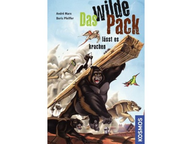 Das Wilde Pack, 4, lässt es krachen