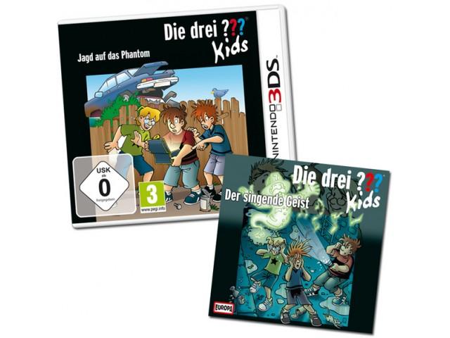 Das große Drei ??? Kids-Paket (Nintendo 3DS-Spiel + Hörspiel)