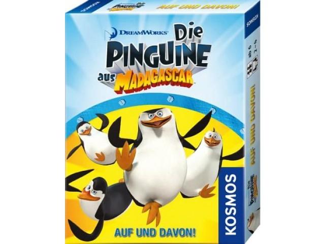 Die Pinguine aus Madagascar - Auf und Davon!