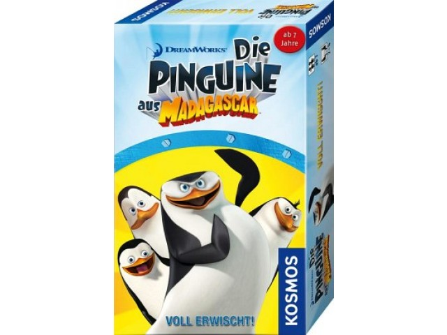 Die Pinguine aus Madagascar - Voll erwischt!