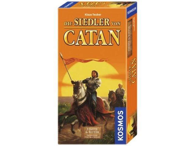 Die Siedler von Catan Städte & Ritter Ergänzung für 5 & 6 Spieler