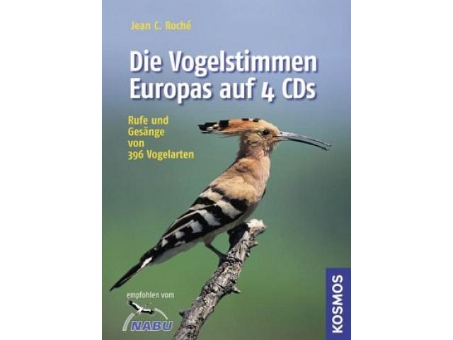 Die Vogelstimmen Europas auf 4 CDs