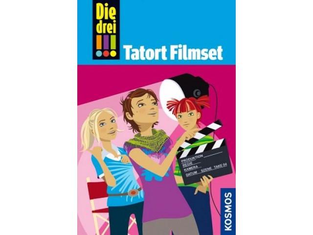 Die drei !!!, 26, Tatort Filmset