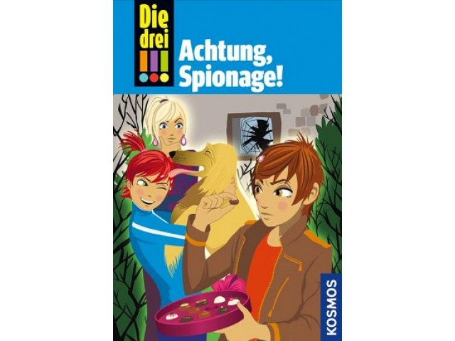 Die drei !!!, 40, Achtung, Spionage!