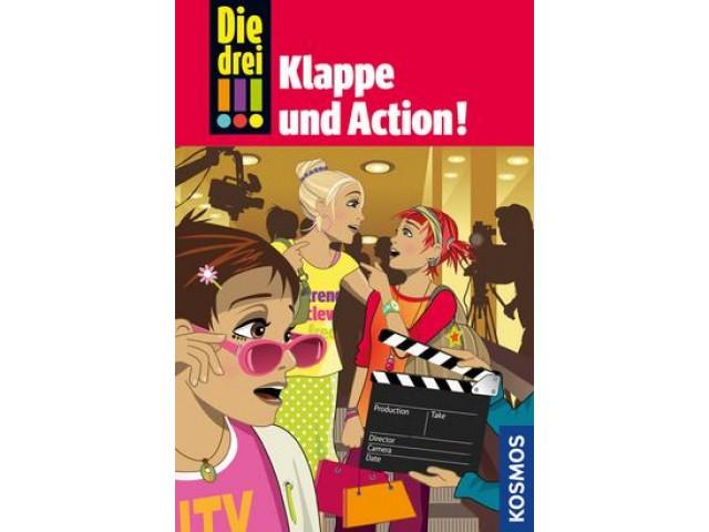 Die drei !!!, Bd. 54, Klappe und Action!