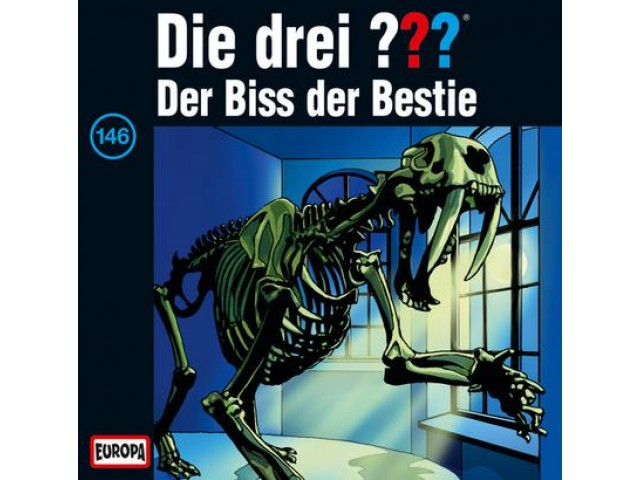 Die drei ??? Der Biss der Bestie, 146 - Audio-CD