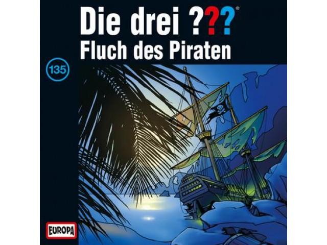 Die drei ??? Fluch des Piraten 135 - Audio-CD