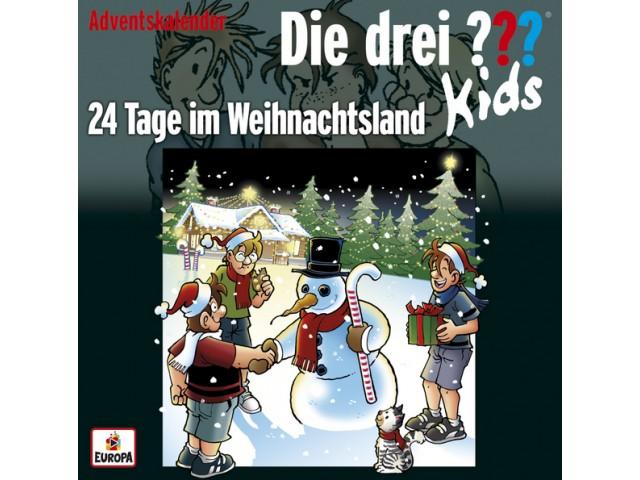 Die drei ??? Kids - 24 Tage im Weihnachtsland