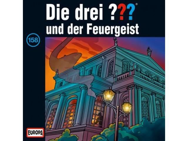 Die drei ??? und der Feuergeist, 158 - Audio-CD