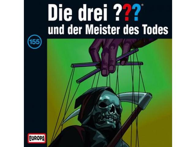 Die drei ??? und der Meister des Todes, 155 - Audio-CD