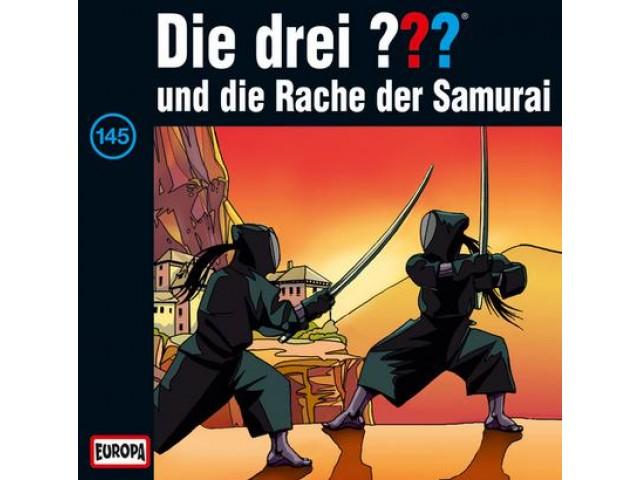 Die drei ??? und die Rache des Samurai, 145 - Audio-CD