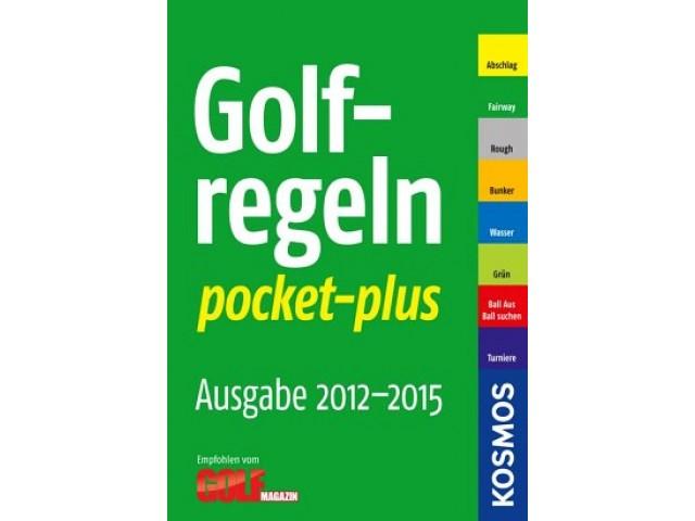 Golfregeln pocket-plus 2012-2015