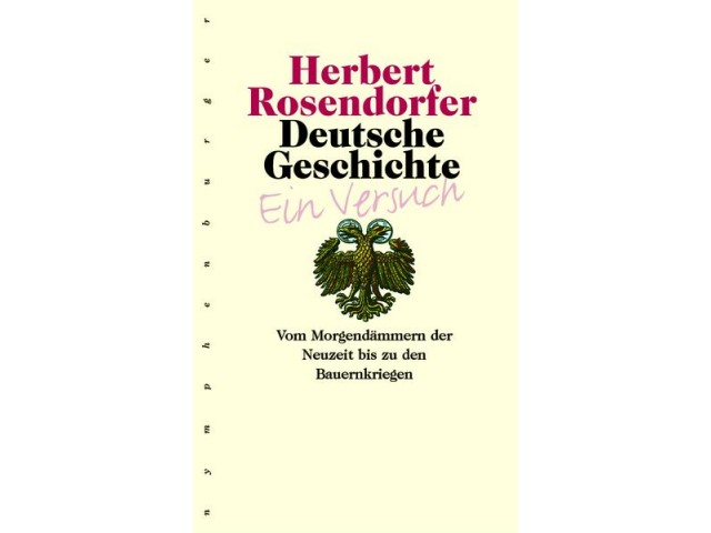 Deutsche Geschichte - Ein Versuch, Band 3