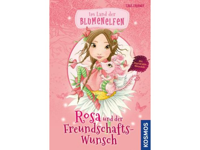 Im Land der Blumenelfen, 1, Rosa und der Freundschaftswunsch