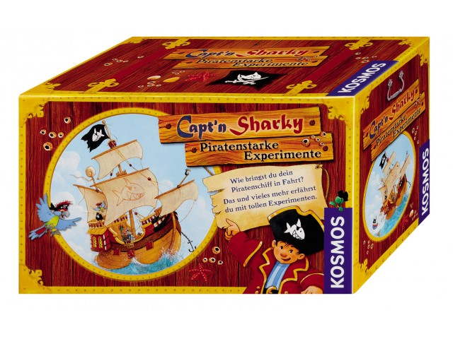 Capt'n Sharky - Piratenstarke Experimente