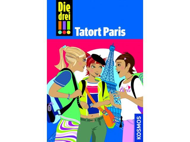 Die drei !!!, 5, Tatort Paris
