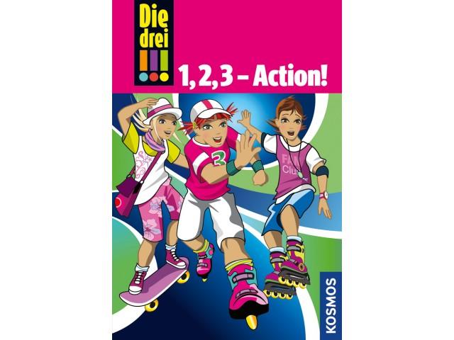 Die drei !!!, 1,2,3 - Action!