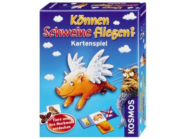 Können Schweine fliegen? Das Kartenspiel