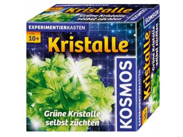 Kristalle grün