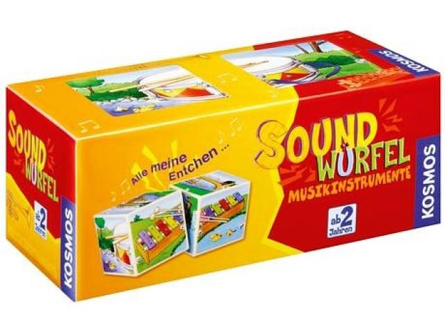 Soundwürfel Musikinstrumente