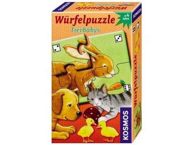 Würfelpuzzle Tierbabys