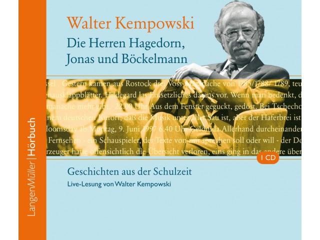Die Herren Hagedorn, Jonas und Böckelmann (CD)