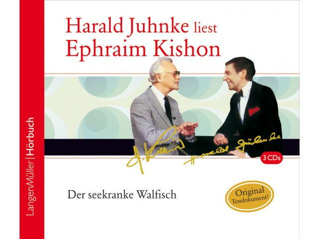 Harald Juhnke liest Ephraim Kishon. Der seekranke Walfisch (CD)
