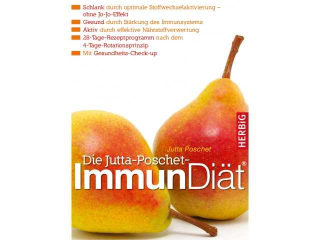 Die Jutta-Poschet-Immundiät®